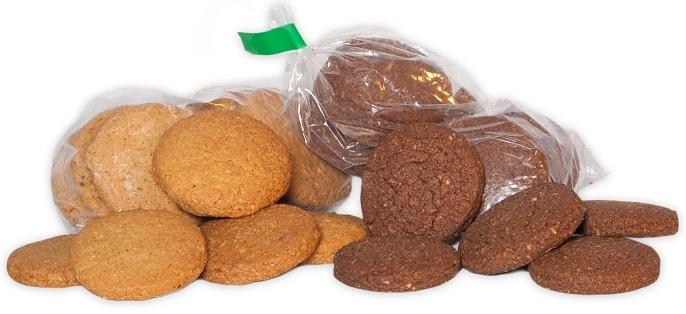 A galletas danesas envase