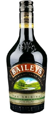 A baileys botella red