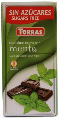 A chocolate menta red