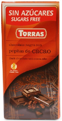 A chocolate pepitas red