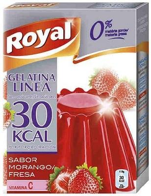 A gelatina royal polvo red