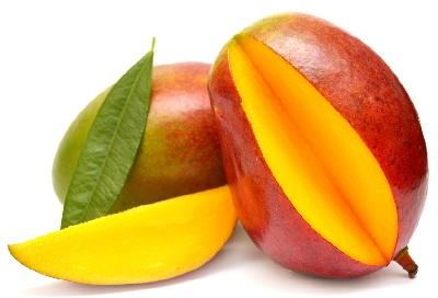 A mango red