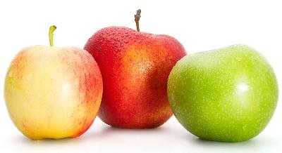 A manzana red