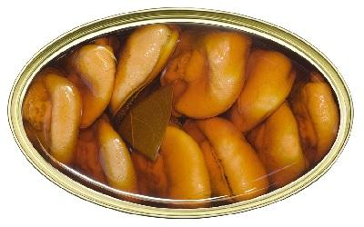 A mejillones conserva