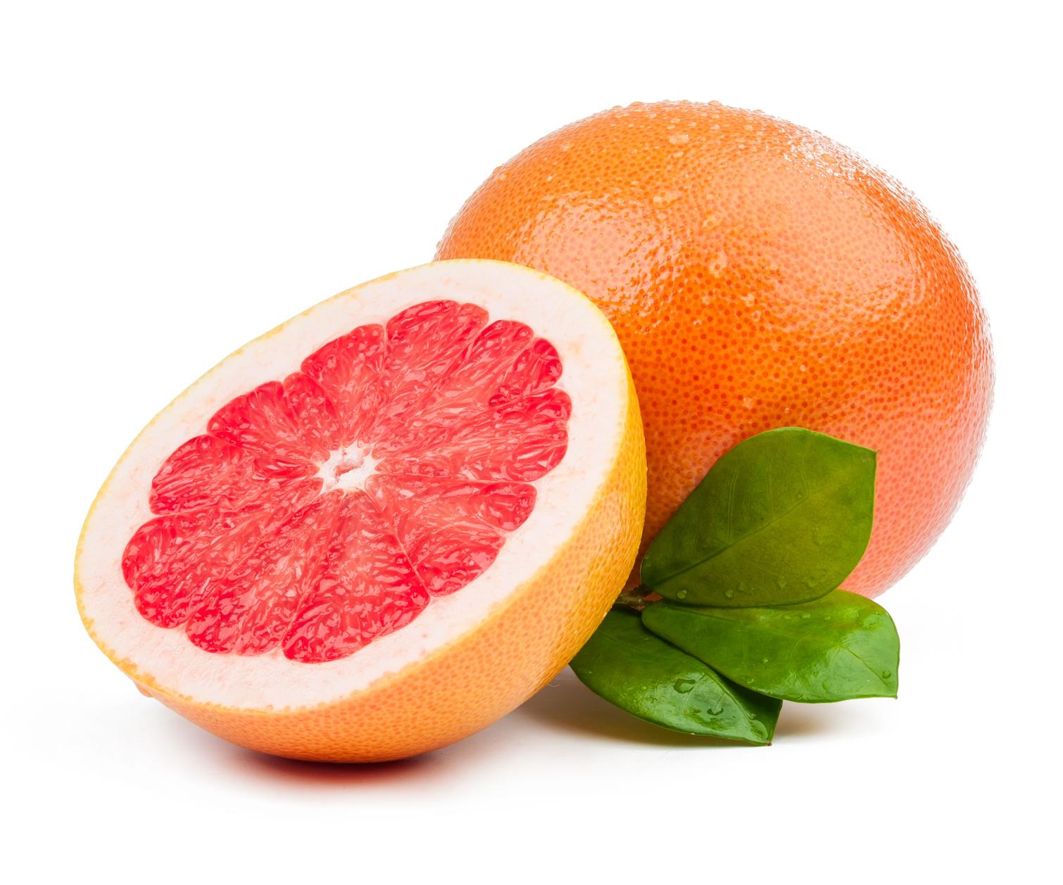 A pomelo rosa