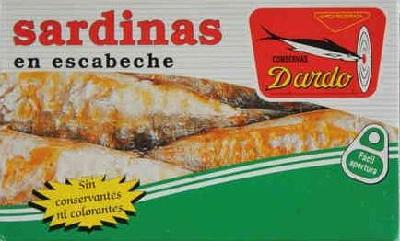 A sardinas escabeche