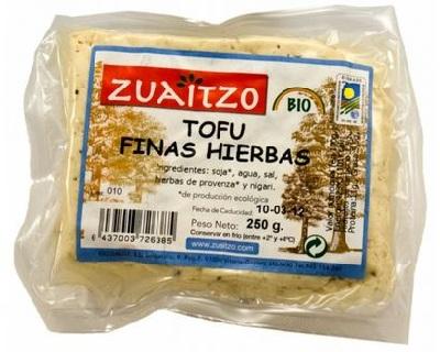 A tofu finas hierbas red