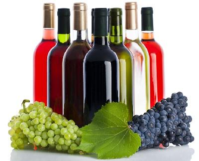 A vino botellas red