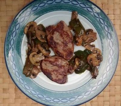 Carne frita Solomillo cerdo