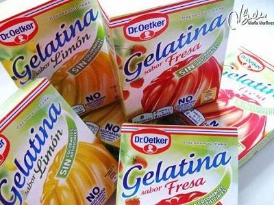 Gelatinas Oetker