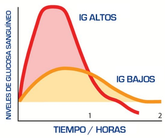 M indice glucemico
