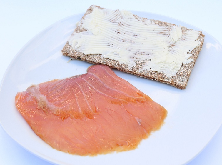 M salmon tosta RED