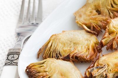 R alcachofas fritas
