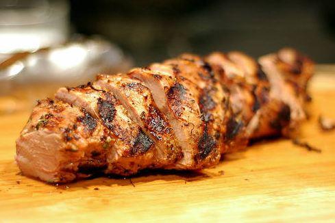 R lomo cerdo horno