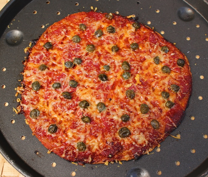 R pizza salami horneada RED