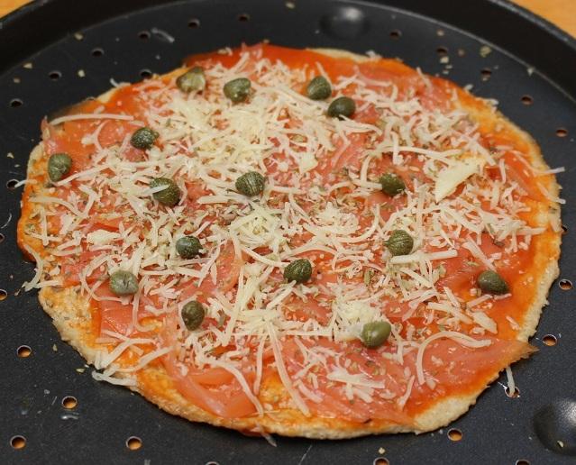 R pizza salmon cruda REDD