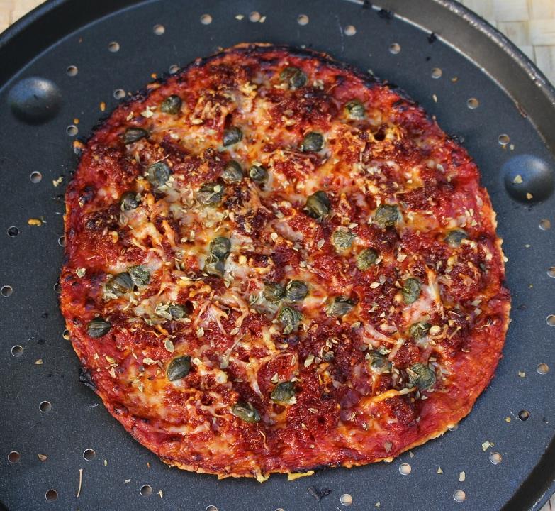 R pizza sobrasada cocinada RED