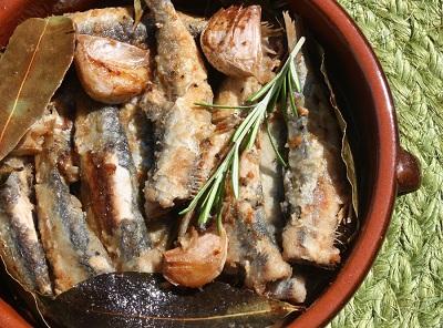 R sardinas escabeche