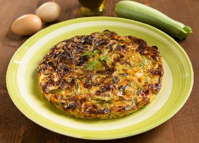 R tortilla calabacin