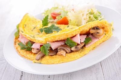 R tortilla champis jamon