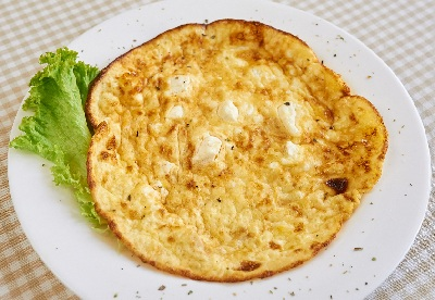R tortilla plana