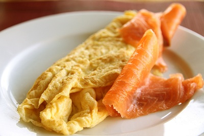 R tortilla salmon