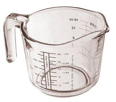 Utensilios medidor liquidos