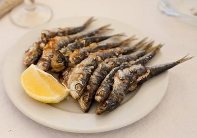 sardinas plancha 400